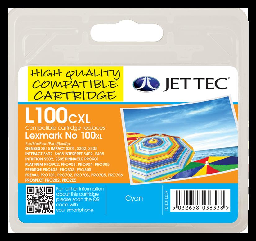 Lexmark 100XL Cyan