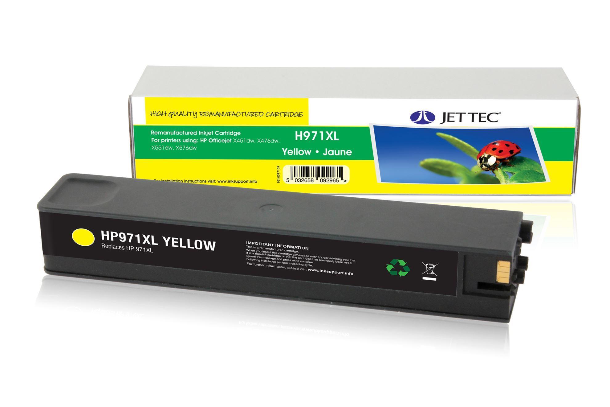 HP971XL Yellow